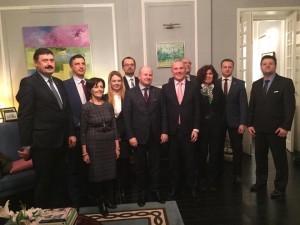 Spotkanie z ambasadorem Irlandii.